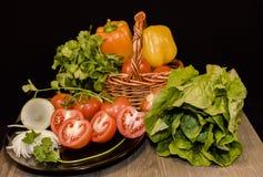 Producto-vehículos frescos de vegetables Fotografía de archivo libre de regalías