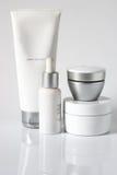 Productos cosméticos Imagen de archivo libre de regalías