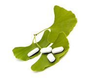 Productos curativos naturales. Fotos de archivo