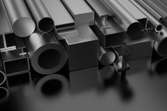 Productos de acero stock de ilustración