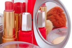 Productos de belleza Fotografía de archivo libre de regalías