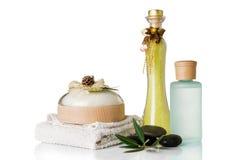 Productos de belleza Imagen de archivo libre de regalías