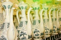 Productos de cerámica Foto de archivo libre de regalías