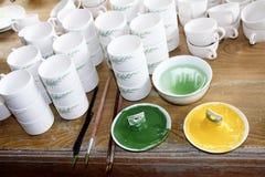 Productos de cerámica Imagen de archivo