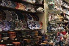 Productos de cerámica de Egipto fotos de archivo