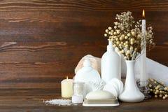 Productos de higiene personal Imagen de archivo libre de regalías
