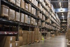 Productos de IKEA en almacén de almacenamiento fotografía de archivo libre de regalías