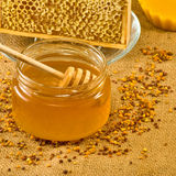 Productos de la abeja Fotografía de archivo