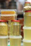 Productos de la abeja Imagen de archivo