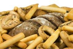 Productos de la panadería Foto de archivo libre de regalías