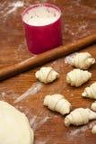Productos de la panadería Imagen de archivo libre de regalías