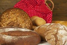 Productos de la panadería Fotografía de archivo libre de regalías