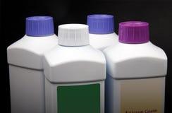 Productos de limpieza. Foto de archivo libre de regalías