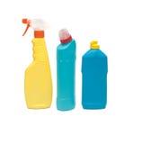 Productos de limpieza   Imagenes de archivo