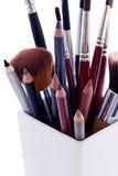 Productos de maquillaje Imagenes de archivo