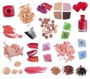 Productos de maquillaje Foto de archivo libre de regalías