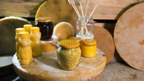 Productos de sustentos de abejas Productos de la apicultura metrajes