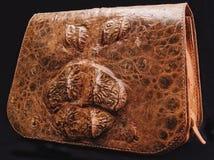Productos de un cocodrilo y de una serpiente Imagen de archivo libre de regalías
