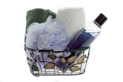 Productos del baño Foto de archivo