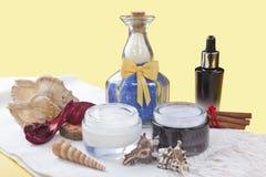 Productos del balneario Imagen de archivo