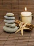 Productos del balneario de la salud Imagen de archivo libre de regalías