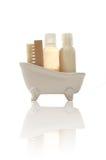 Productos del baño Imagen de archivo libre de regalías