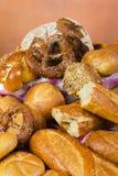 Productos del pan y de la panadería Foto de archivo