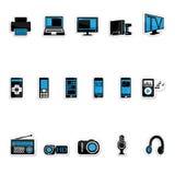 Productos electrónicos de consumo Imágenes de archivo libres de regalías