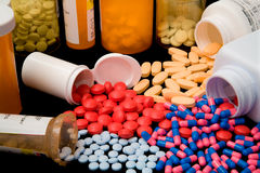 Productos farmacéuticos imagen de archivo