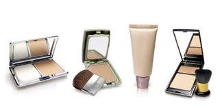Productos genéricos del maquillaje Fotos de archivo
