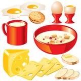 Productos lácteos Imagenes de archivo