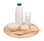 Productos lácteos deliciosos Fotografía de archivo libre de regalías