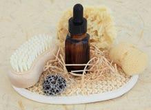 Productos naturales de Skincare imagen de archivo