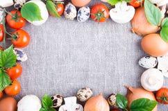 Productos orgánicos de la granja Imagen de archivo