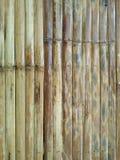 Productos procesados del bambú Imagen de archivo libre de regalías