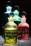 Productos químicos Fotografía de archivo libre de regalías