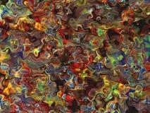 Productos químicos mezclados Fotos de archivo