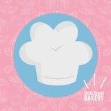 Productos siempre frescos de la panadería Foto de archivo libre de regalías