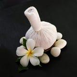 Productos tailandeses del masaje Imágenes de archivo libres de regalías