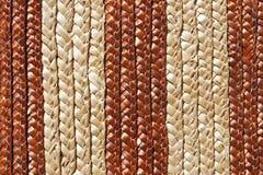 Productos tejidos de la paja Imagenes de archivo