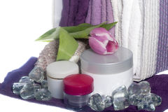 Products for body care Stock Photo