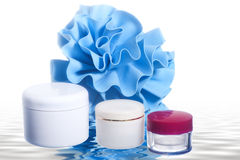 Products for body care Royalty Free Stock Images