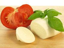 Products for caprese Royalty Free Stock Photos