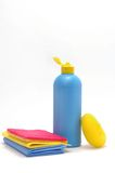 Products for a cleaning Royalty Free Stock Photography