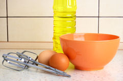 Products and dishes Royalty Free Stock Photography