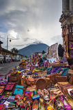 Products of guatemala royalty free stock photos