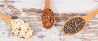 Products and ingredients as source natural vitamins and dietary fiber, healthy nutrition concept. Products and ingredients as source vitamins, dietary fiber and Stock Photography