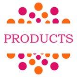 Products Pink Orange Circular Stock Photography