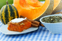 Products of pumpkin Stock Photos