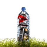 Products for recycling. Royalty Free Stock Photos